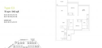 treasure-at-tampines-C3-floor-plan-singapore